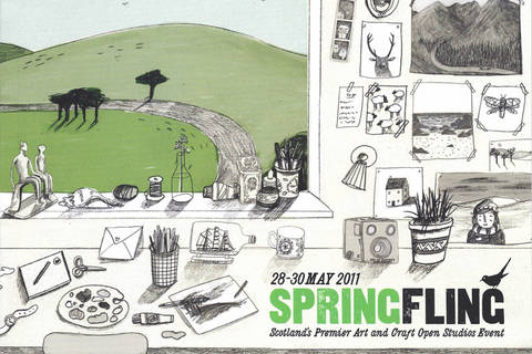 Brochure Cover: Illustration by Lizzy Stewart