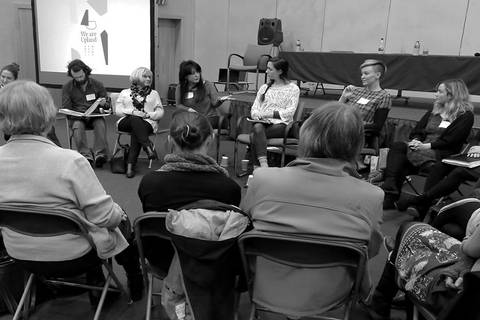 'We Are Upland Symposium', In conversation with Bea Last, Kirsty Whiten & Amy Winstanley