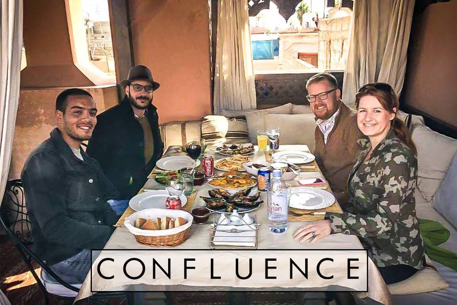 Laura Hudson Mackay, Houssain Belabbes and Medhi El Ghaly