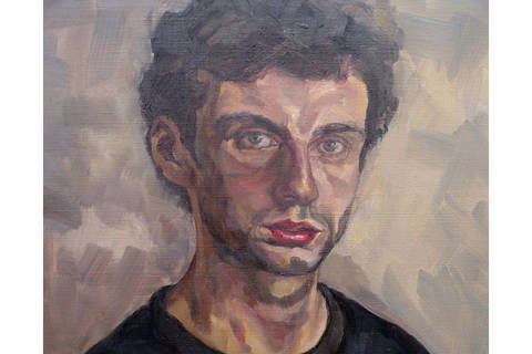 Self portrait, Luke Fitch