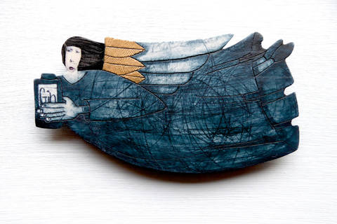 The Gin Angel by Wendy Kershaw