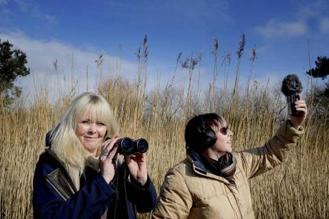Angela Alexander-Lloyd at WWT Caerlaverock. Photo by Colin Hattersley