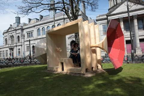 The Listener, LookAgain Art & Design Festival Aberdeen