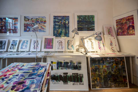 Victor Henderson's Studio