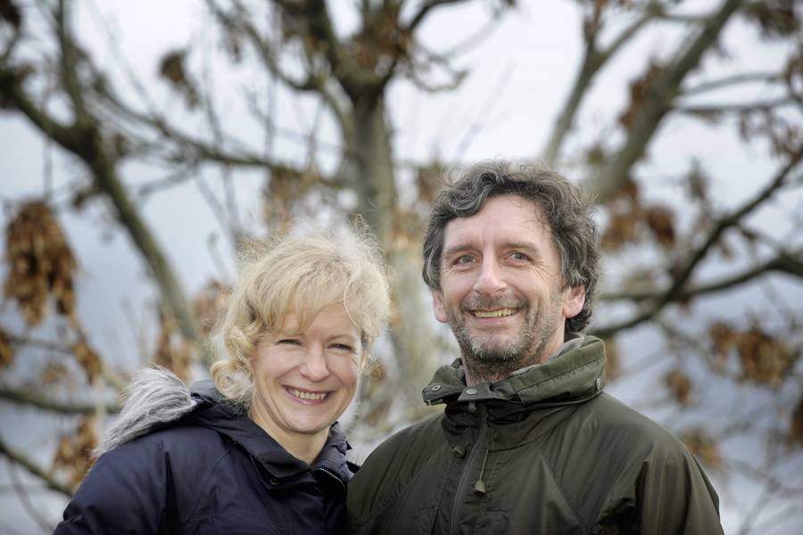 Ted Leeming & Morag Paterson. Photo by Colin Hattersley