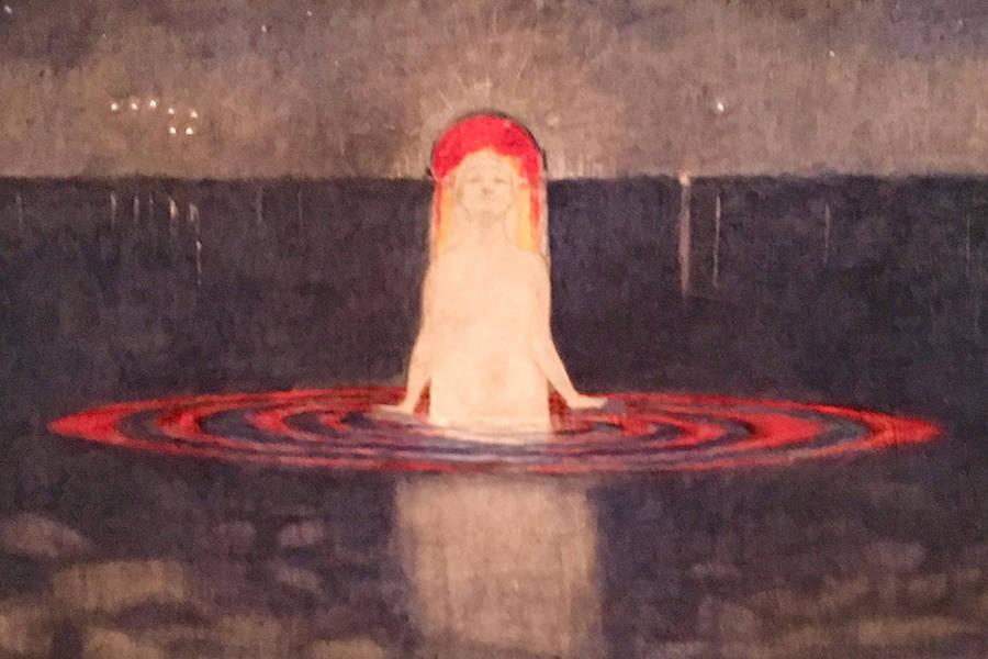 The Mermaid, 1855, Harald Sohlberg