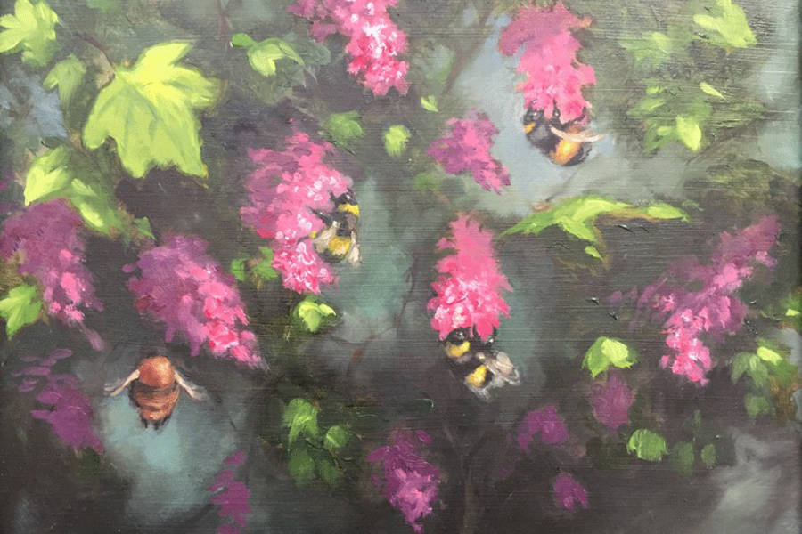 Bumble Bees by Elizabeth Gilbey