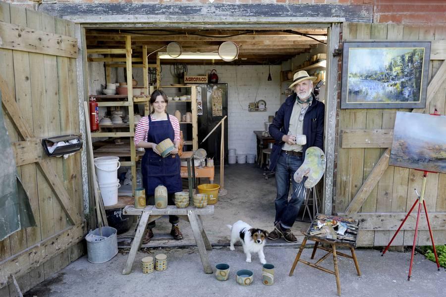 Sophie Jarzyna & Michael Batey. Photo by Colin Hattersley